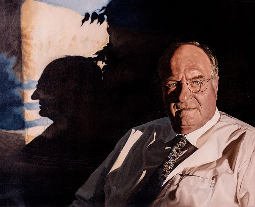 Poul Krogh, Olie på lærred, 80 x 100 cm